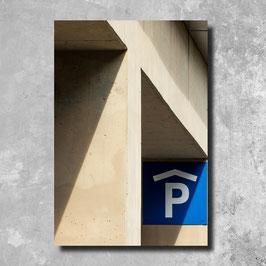 Foto Leinwand - Parking