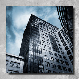 Foto Leinwand - Bankgebäude