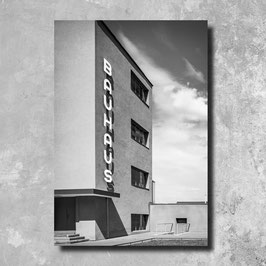 Foto Leinwand - Bauhaus Dessau