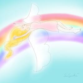 【天使画】