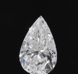!!RESERVIERT!! Natural Loose Diamond 0.52 Cts Pear Shape IGI Certified F  I1 G. G. None