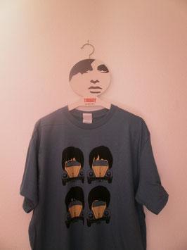 The Beatles Stilisiertes T-Shirt