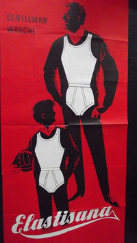 Elastisana Plakat Vintage