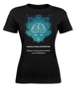 Camiseta de Mujer Música para Despertar
