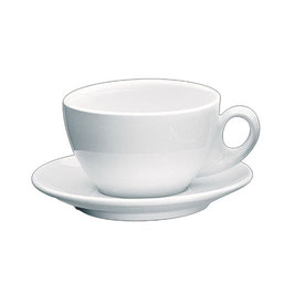 Roma Milchkaffeetasse weiss
