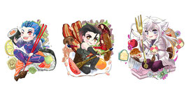 Fate Food Charms