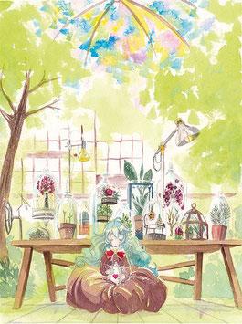 "A4 Print ""Bijou Orangerie"""
