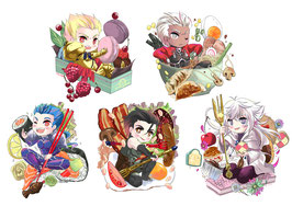 Fate Food Stickerset