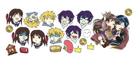 Noragami Stickerset