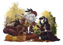"""Rabenfluch """"Herbst"""""""