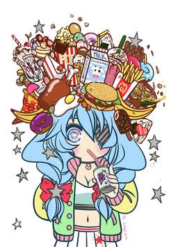 "A4 ""Food Princess"""