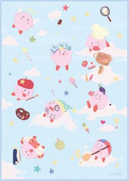 "A4 ""Kirby Blödsinn"""