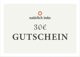natürlich imke | Geschenk-Gutschein 30€