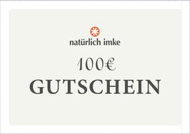 natürlich imke | Geschenk-Gutschein 100€