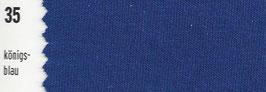 180-200cm Spannbetttuch 35 Königsblau