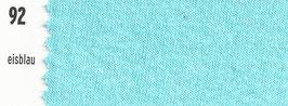 180-200cm Spannbetttuch 92 Eisblau