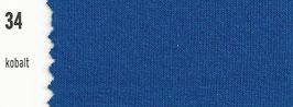 180-200cm Spannbetttuch 34 Kobalt