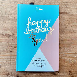 Livre Happy birthday to you ! - Minus Éditions