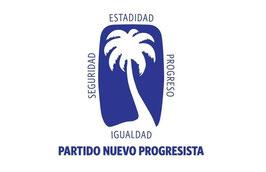 Bandera del Partido Nuevo Progresista (PNP)