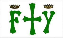 Bandera de Cristóbal Colón (Nilón 3'x5')