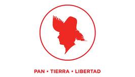 Bandera del Partido Popular Democrático (PPD) - Círculo Rojo