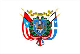 Bandera del Escudo Nacional Soberano de Puerto Rico