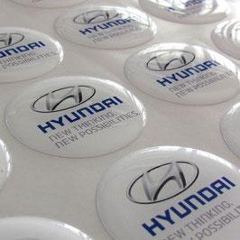 Étiquette adhésive doming, Au dessus de 30 cm² ou forme spécifique, Nous contacter pour un devis.