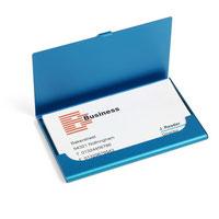 Porte-cartes en aluminium couleur