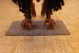 Mini Yogamat / Handstandmat rubbercork