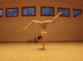 Mini Yogamatte / Handstandmatte Naturkork