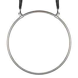 aerial hoop, 2-point mounting, stainless steel