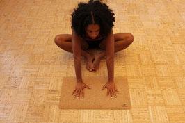 Mini Yogamat / Handstandmat natural cork