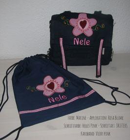 KIGA-Set -Blume mit Herzchen
