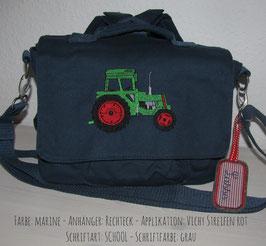 Canvastasche - Traktor Fendt
