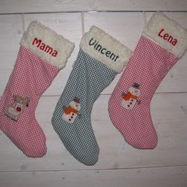 Weihnachtsocke Rudolph