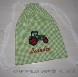 Turnbeutel - Traktor