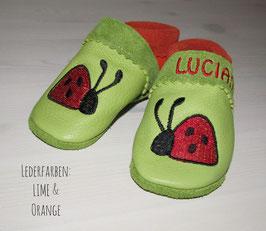 LaLePus-Lauflernschuhe- Marienkäfer