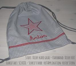 Turnbeutel - Stern
