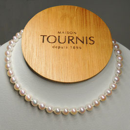 Collier de perles de culture 7 7.5 mm