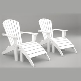 Seashell Adirondack Outdoor Setting