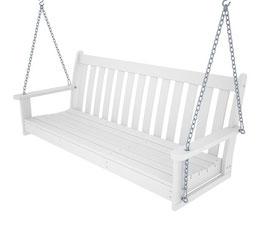 Vineyard Porch Swing Bench - 150cm