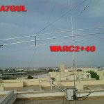 WARC2+40 antenna dipolo 3 bande 12/17/40mt