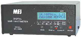 MFJ-826B Digital SWR/Watt Meter