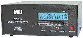 MFJ-826B Digital SWR/Watt Meter