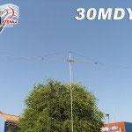 30MDY1 antenna dipolo 1 elemento 10Mhz