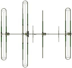 SteppIR YAGI DB36.80 antenna 4 elementi 40/6mt con Kit dipolo 80mt