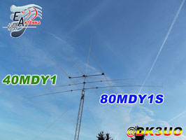 80MDY1S Antenna dipolo 1 elemento 3,5Mhz