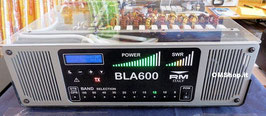 BLA-600: 500 W Transistor Amp for shortwave with built-in power supply