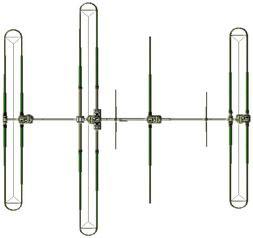 SteppIR DB36 YAGI antenna 4 elementi 40/6mt con SDA-100 controller