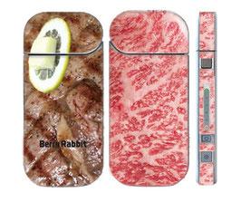 berryrabbit  大人気!IQOS シール 新型2.4plus対応 ステーキ